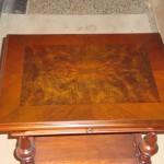 Tischplatte nach der Restaurierung