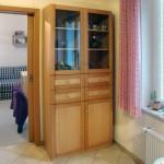 Küchenschrank, Buche, massiv