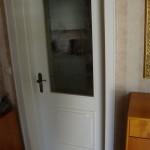 Die Zimmertüren waren vorher schlicht Weiß