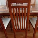 Stühle aus massivem Mahagoni