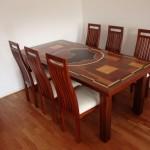 Tischgestell passend zur Tischplatte angefertigt