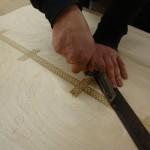 Furniersäge für Intarsien