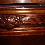 Detail: Restaurierte Schnitzarbeiten