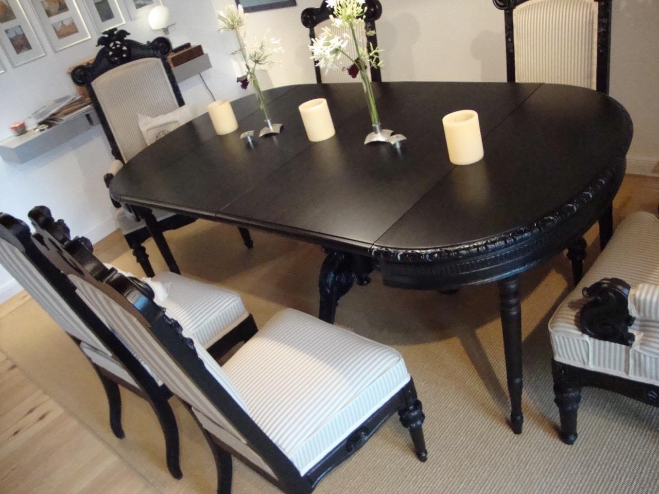 st hle und tisch von 1861 tischlerei hamburg tischlerei. Black Bedroom Furniture Sets. Home Design Ideas