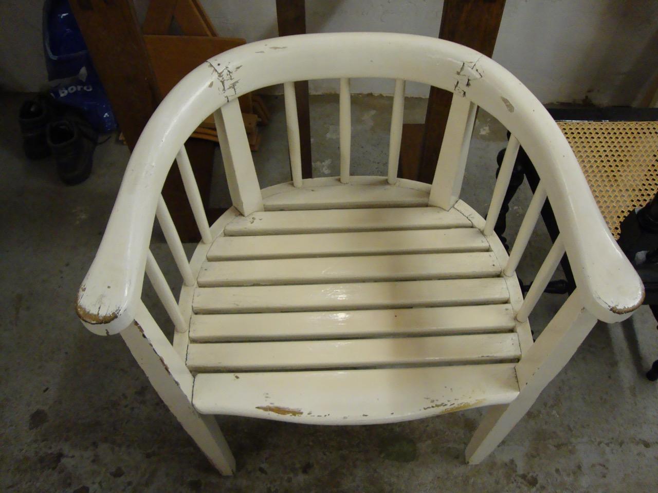 Vom Weiß Lackierten Tisch Zum Geölten Holztisch Mit
