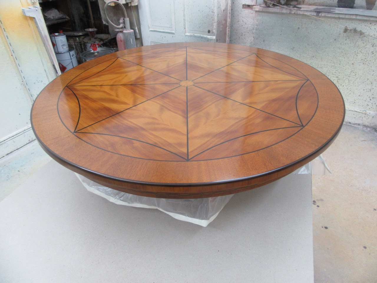 Lack ausbessern Tisch
