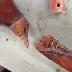 Holz Stuhl Bruch