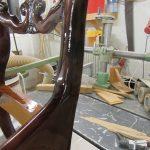 Holzwerkstatt Helmeke Stuhl Bruch neu