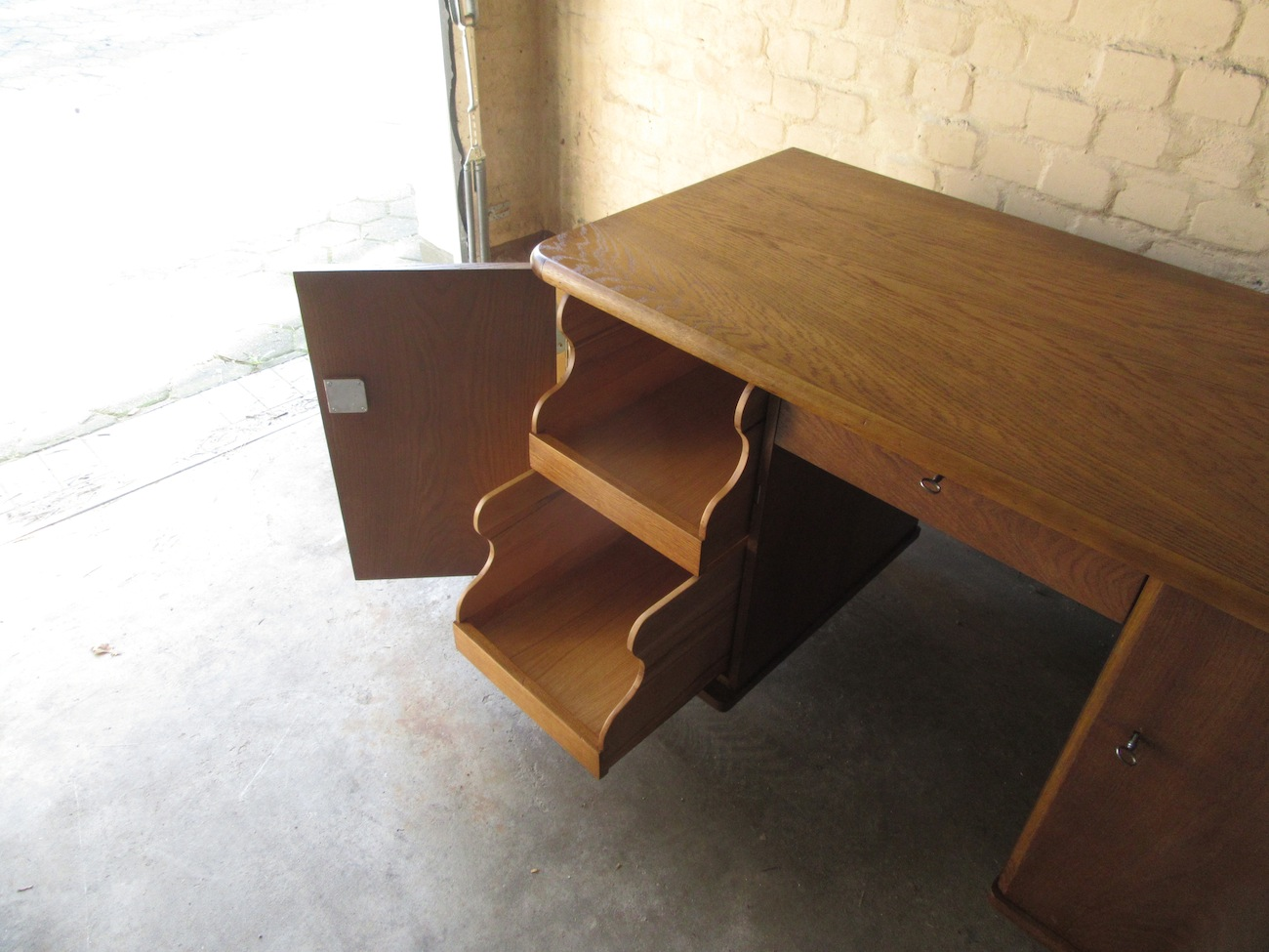 Tischlerei Süden Hamburg Umgebaute Schubkästen Schreibtisch