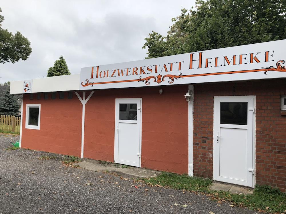 Das Ergebnis der Holzwerkstatt Helmeke