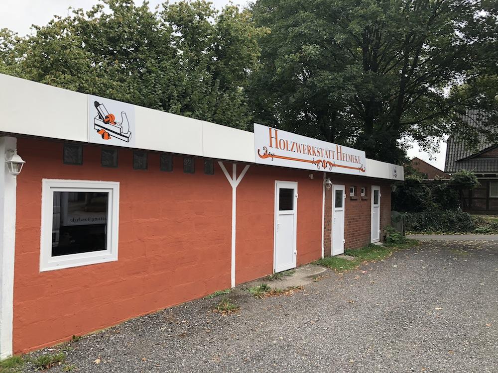 Tischlerei und Holzwerkstatt im Landkreis Harburg nach dem Umbau
