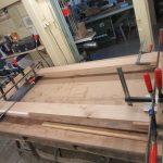 Tür aus Eiche wird im Landkreis Harburg gebaut
