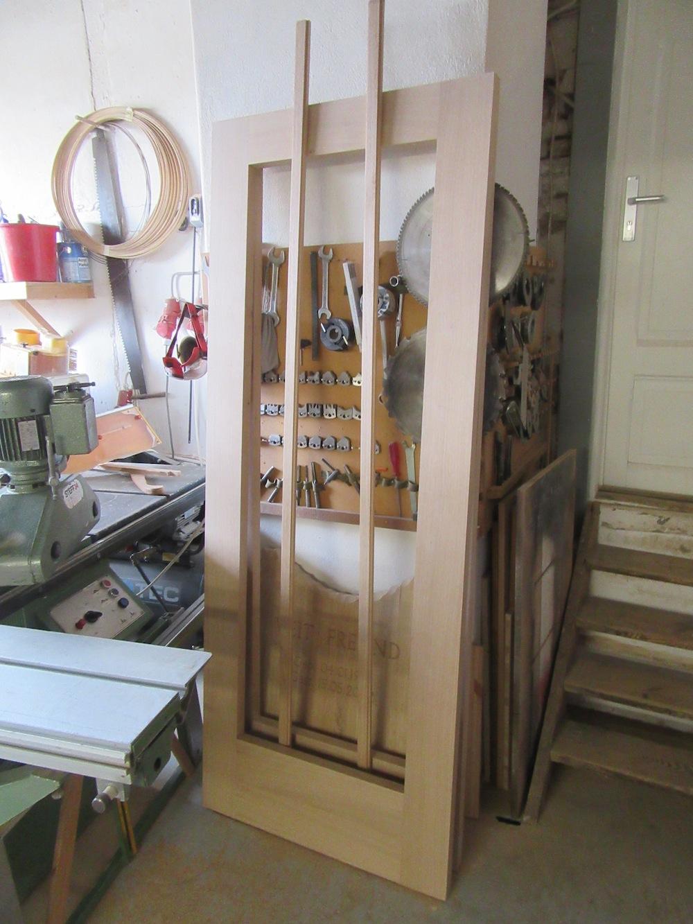 Tür aus Eichenholz