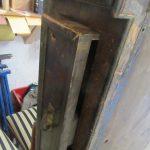 Schublade antiker Kleiderschrank