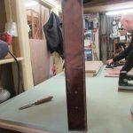 Restaurierung alter englischer Schreibtisch in der Holzwerkstatt Helmeke