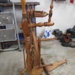 Spinnrad in der Holzwerkstatt Helmeke