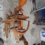 Spinnrad in der Tischlerei im Landkreis Harburg