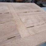 Tischplatte ausbessern