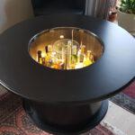 Endergebnis: Tischler lackierte Tisch neu