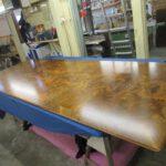 Neue Tischplatte - gebaut in Tischlerei