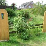 Garten-Dekoration gebaut vom Tischler aus dem Landkreis Harburg