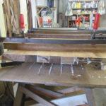 Neuanfertigung Tischplatte durch Tischler Helmeke