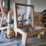 Sitzelement beim Tischler Neuanfertigung