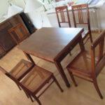 Endergebnis der Restaurierung durch Tischler