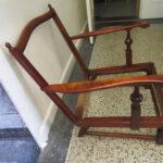 Mahagoni Sessel in Tischlerei Holzwerkstatt Helmeke