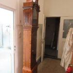 Das Endergebnis: restaurierte Standuhr beim Kunden zu Hause