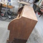 Sekretär in der Holzwerkstatt Helmeke