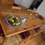 Tischplatte restauriert