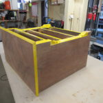 Kommode in der Holzwerkstatt Helmeke